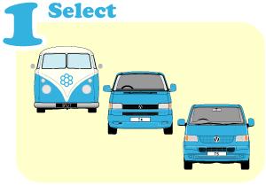 Step 1 Select